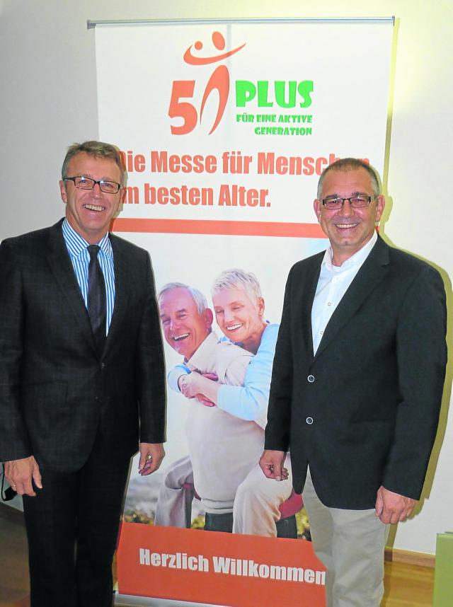 """Tirschenreuth betritt mit Messe """"50 plus"""" Neuland - Plattform für Dienstleister und Hersteller"""