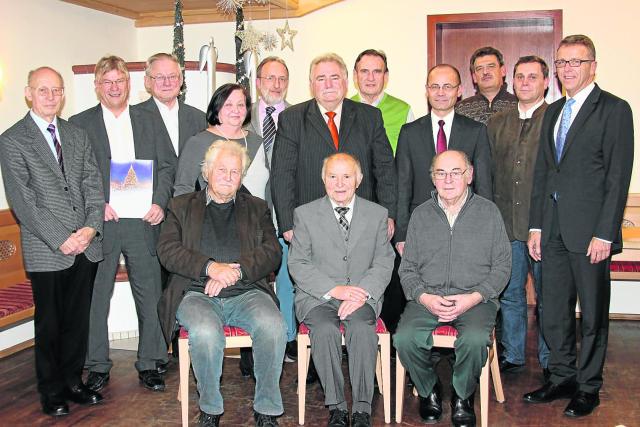 Bürgermeister Franz Stahl sieht die CSU gut aufgestellt - Ortsverband ehrt langjährige Mitglieder