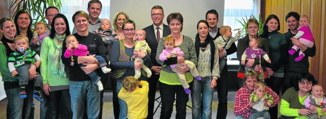 Empfang für Neugeborene von Tirschenreuth 2012